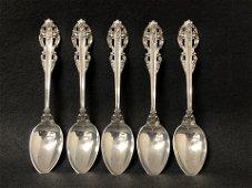 Sterling Reed Barton El Greco Spoons,211.5g -