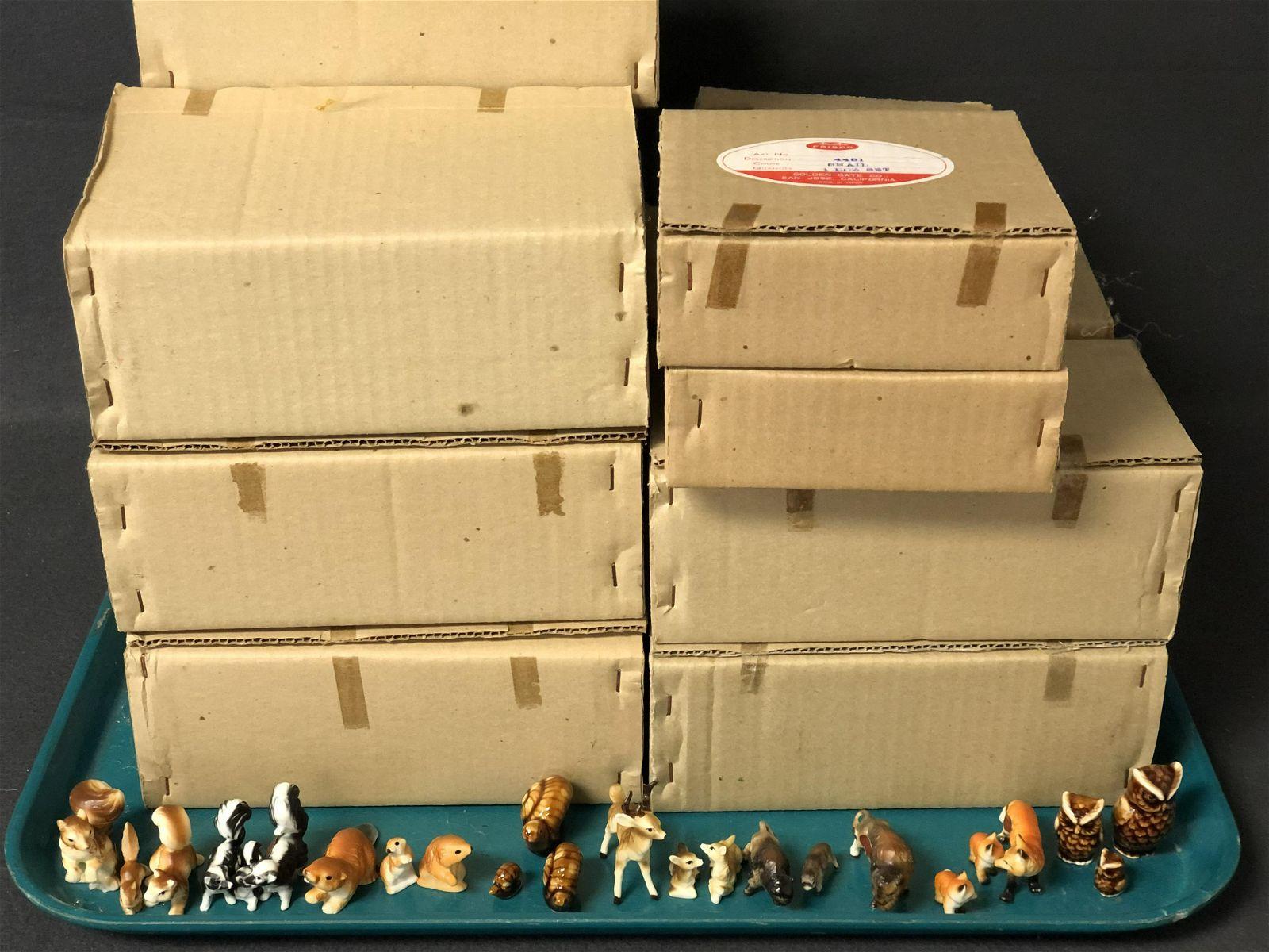 180 Boxes Golden Gate Frisco Miniatures - Vtg New Old