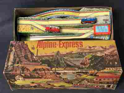 Marke Technofix W.German Tin Windup Toy - Original Box