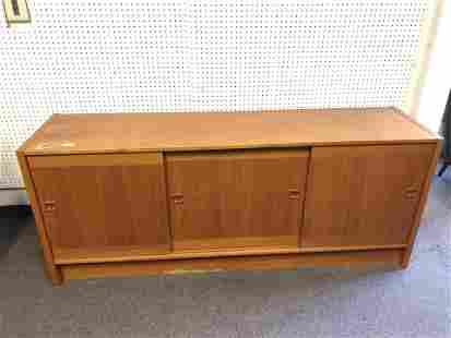MCM Danish Sideboard / Console - Veneered 71'' x
