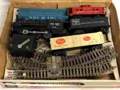 Vtg Gilbert American Flyer Train Set 21166 - 'S'Gauge