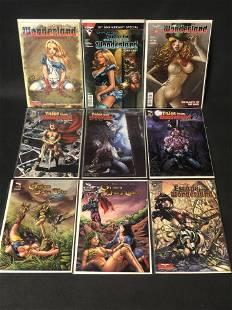 9 Grimm Fairy Tales Wonderland Comics - All Near Mint