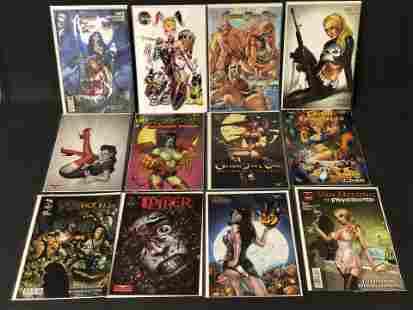 12 Adult Comics, Grimm, Faro's, Halloween - Grimm