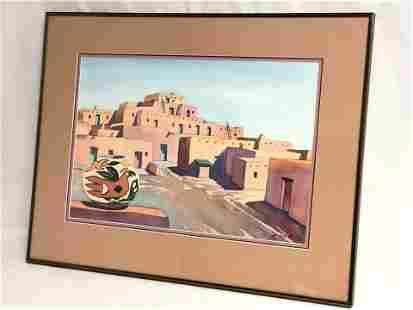 Robert G. Stevens(1926-2004) Watercolor - Original