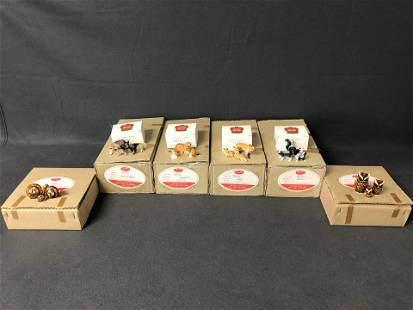 72 Boxes Golden Gate Frisco Miniatures - New Old Stock