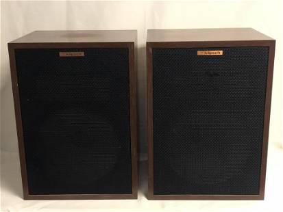 Pr Klipsch Heresy HBR Floor Speakers - Serial #1114363
