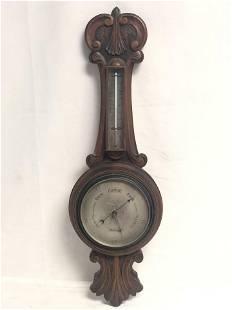 Antique Sam Lyon Jr. Blackpool Barometer - 28'' Length