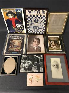 Ephemera, Hollywood,Music,Prints,Frames - Various Sizes