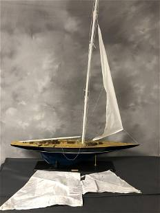 Endeavour Wooden Ship Model - w/ Instructions - Pick Up