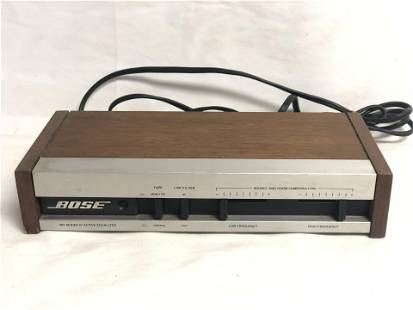 Bose 901 Series IV Active Equalizer - Powers Up, Came