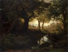 Schirmer Johann Wilhelm zugeschr Waldlandschaft mit