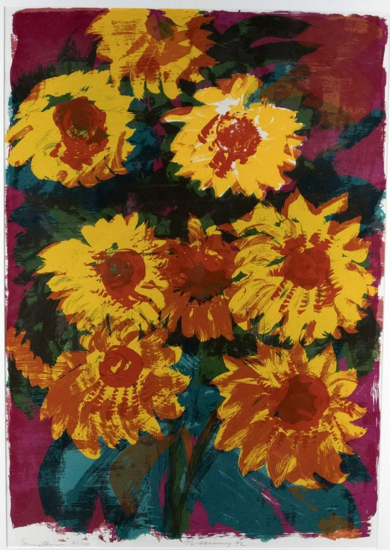 Fetting, Rainer: Sonnenblumen