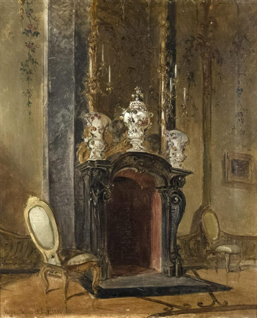 Borckmann, August: Aus dem Ovalen Kabinett im Neuen