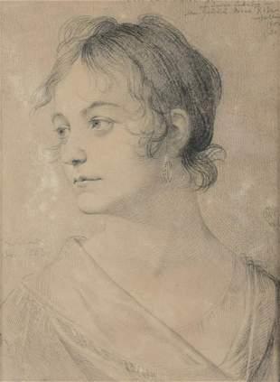Schadow, Friedrich Wilhelm von: Bildnis Caroline Leede