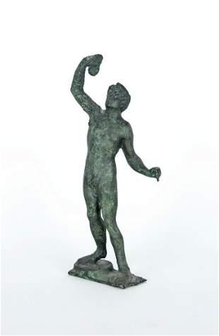 Roemischem Vorbild, nach: Stehender mit Traubendolde