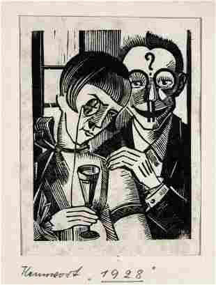 Grafiker der 1. Haelfte des 20. Jh.: Konvolut (Chagall,
