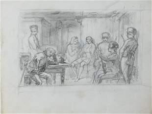 Roux, Gustave: Literaturillustrationen (Konvolut)