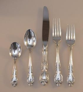 Gorham Melrose Sterling Silver Flatware Set