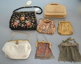 Lot of Vintage Beaded Evening Bags / Purses