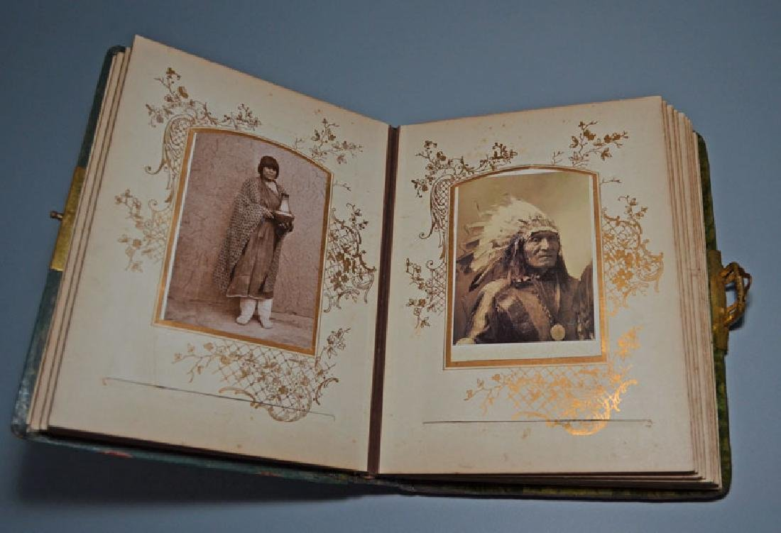 Native American Cabinet Card Album - 2