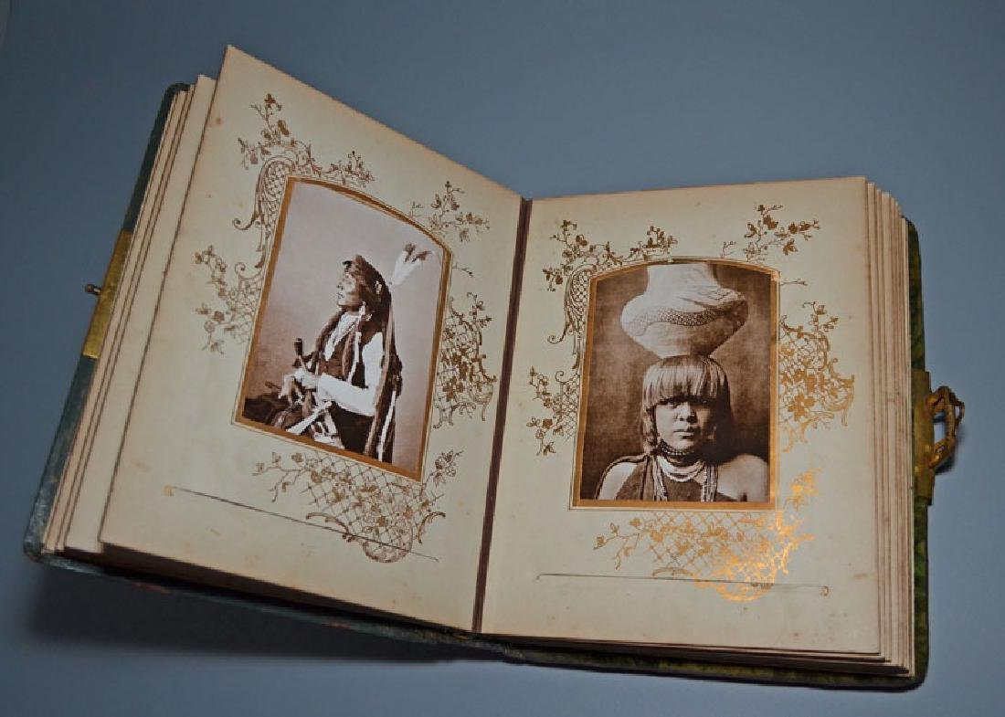 Native American Cabinet Card Album - 3