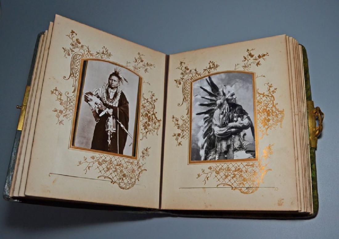 Native American Cabinet Card Album - 4