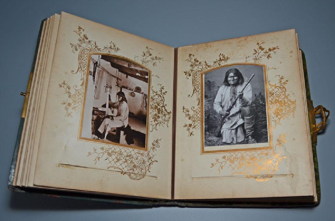 Native American Cabinet Card Album - 5
