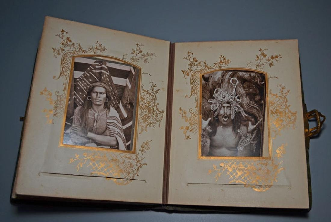 Native American Cabinet Card Album - 6