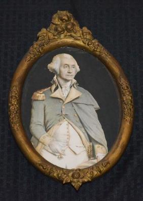 George Washington Tinted Lithograph