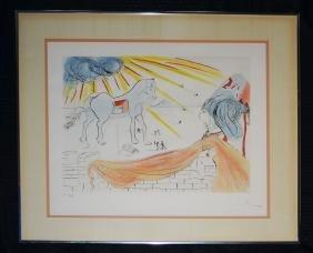 Dali Helen & Trojan Horse Signed Artist Proof