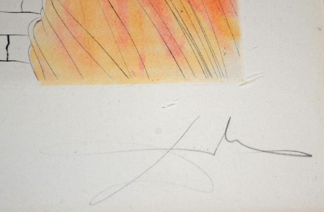 Dali Helen & Trojan Horse Signed Artist Proof - 3