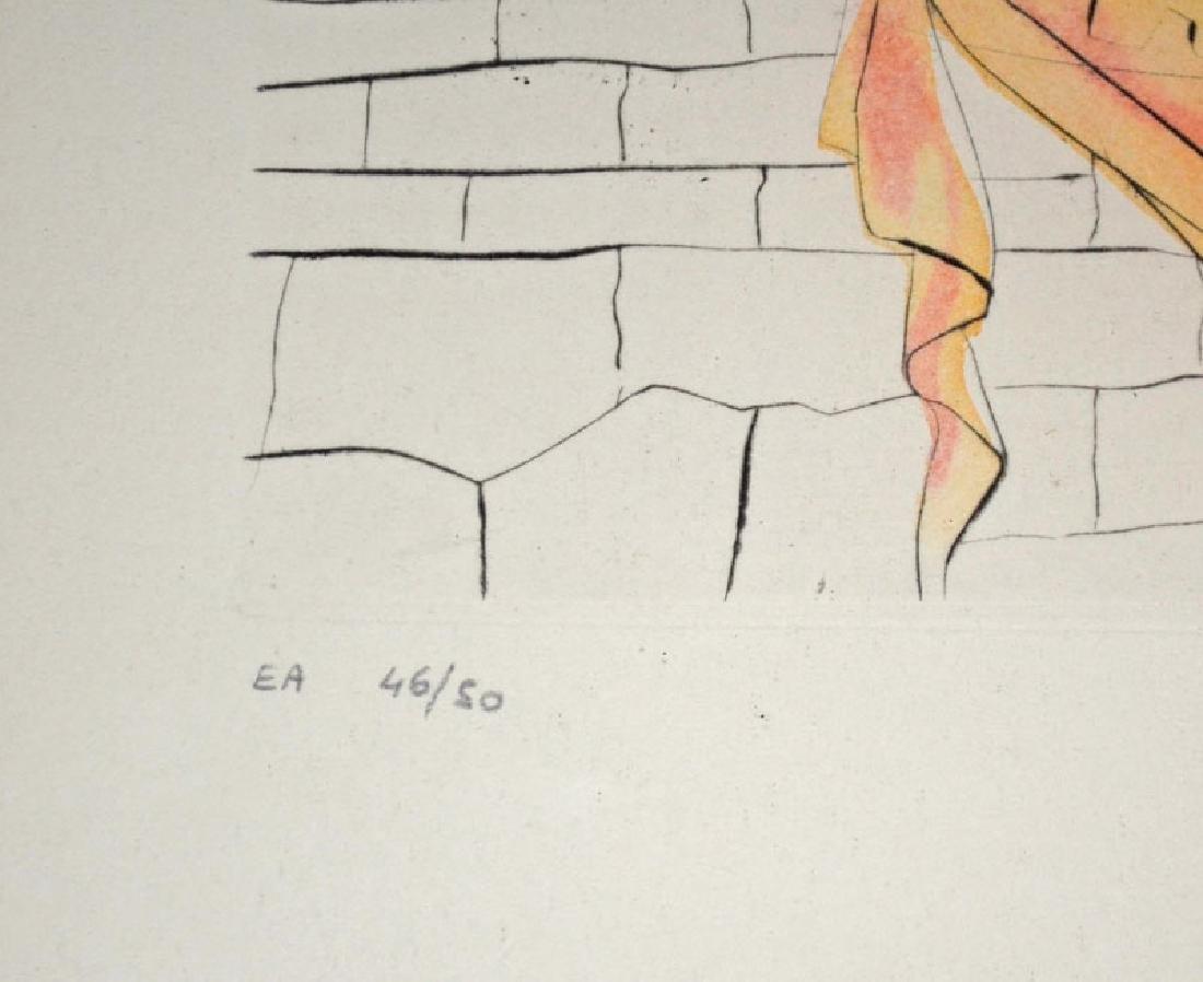 Dali Helen & Trojan Horse Signed Artist Proof - 4