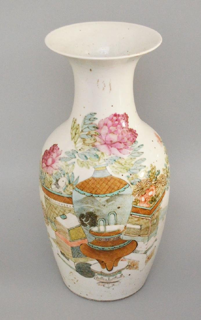 Large Antique Chinese Porcelain Vase