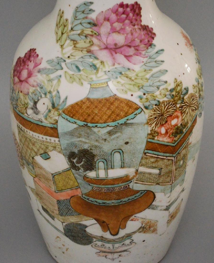 Large Antique Chinese Porcelain Vase - 4
