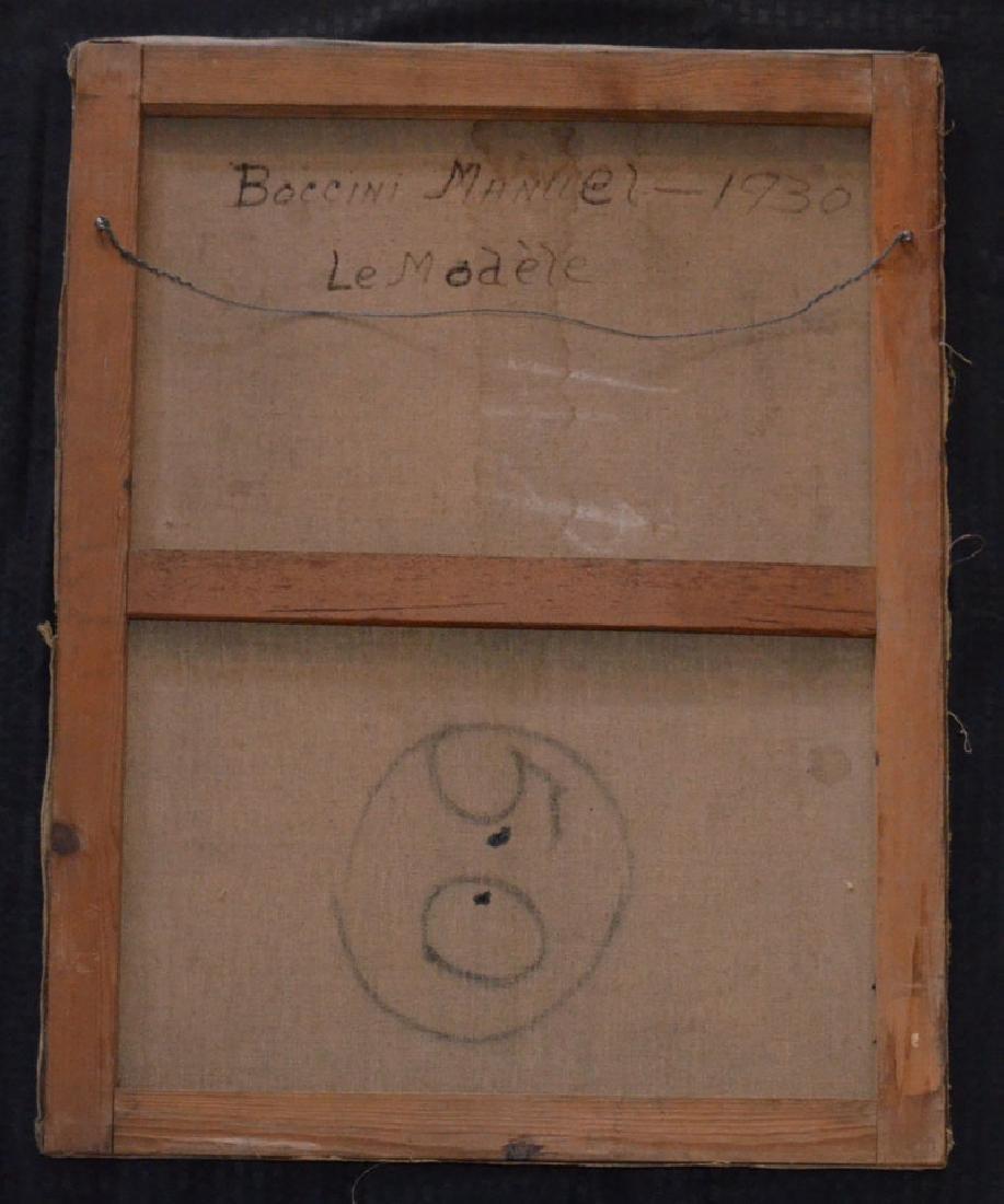 1930 Boccini Manuel Le Modele Nude Painting - 3