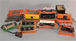 Vintage Lionel Trainset w Tracks  Boxes