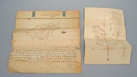 Two 18th Century Indentures In New York