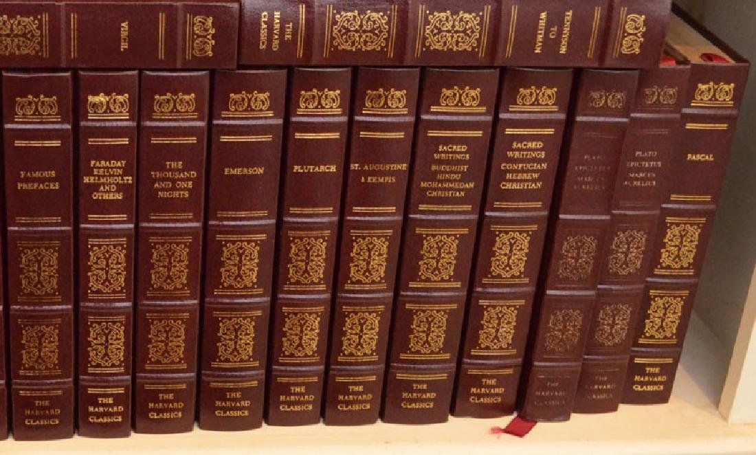 Set of 38 Harvard Classics Leather Bound Books - 5