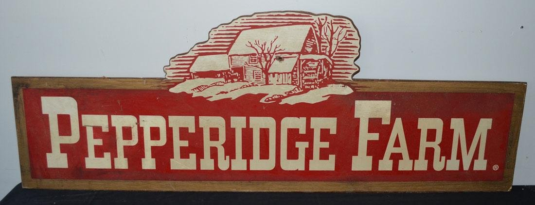 Vintage Pepperidge Farm Sign