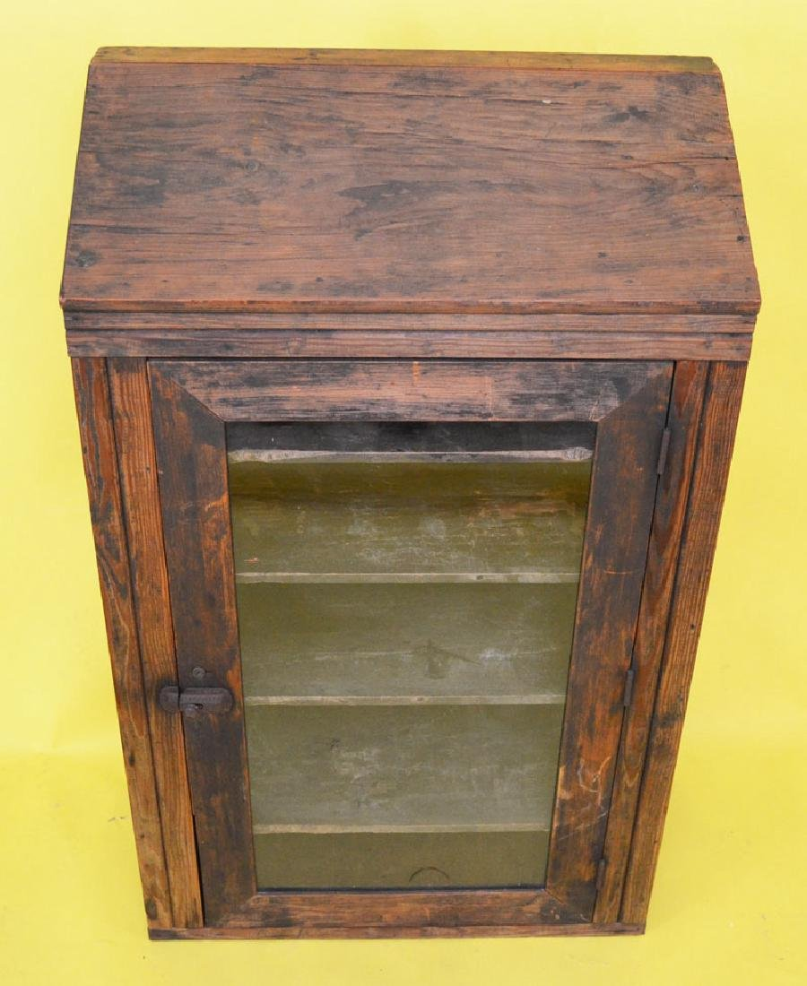 Antique Country Store  Display Cabinet