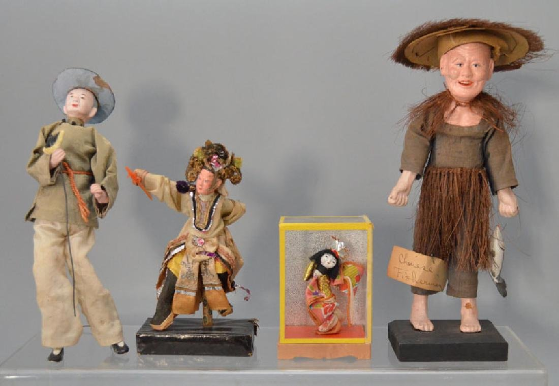 Large Collection of Asian Dolls (Chinese, Japanese) - 2