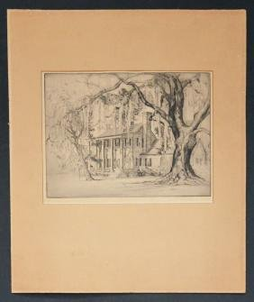 Elizabeth  O'Neill Signed & Numbered Etching