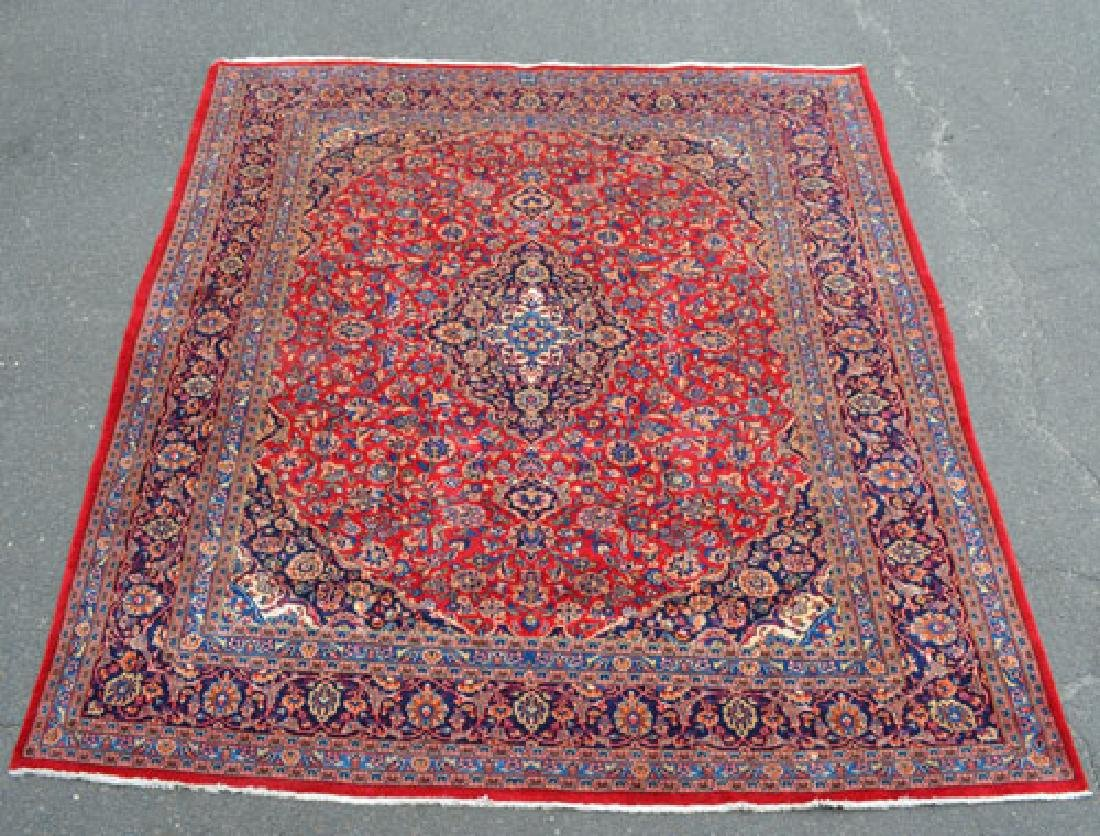 Large Hand Knotted Iranian Carpet