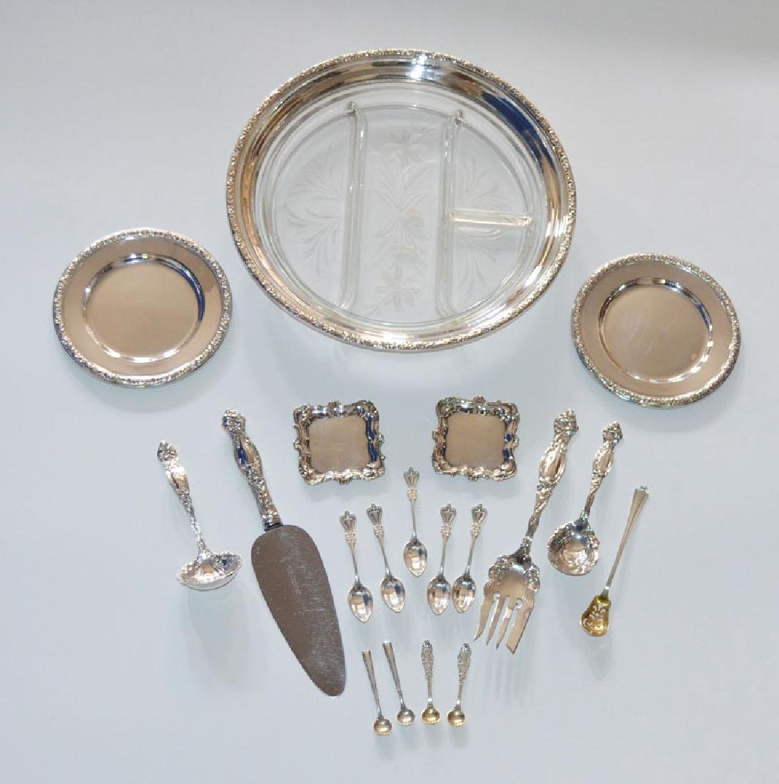 Lovely Lot of Sterling Silver Flatware & Accessories