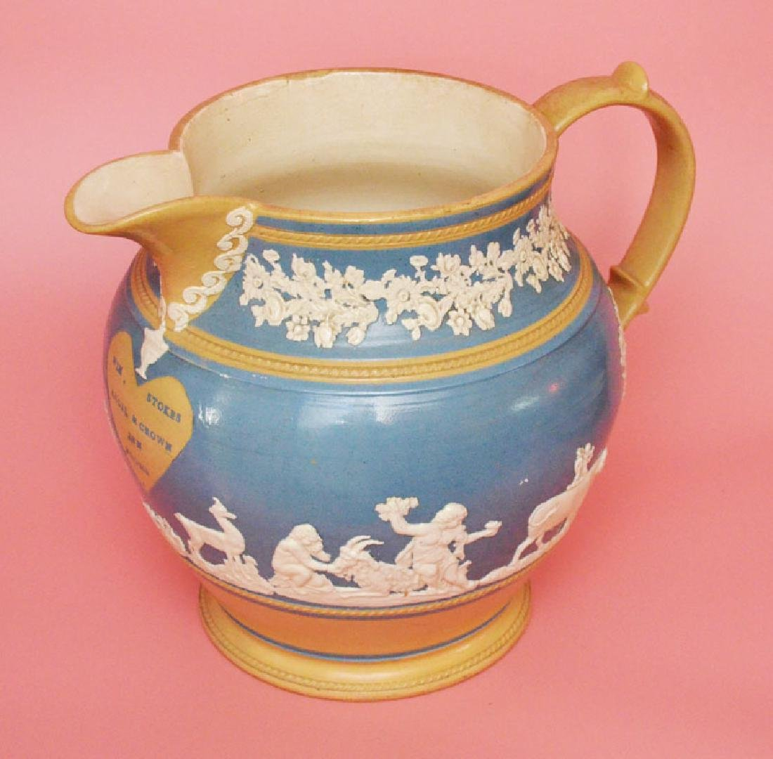 Truly Monumental Angels & Crown Wm Stokes Pitcher