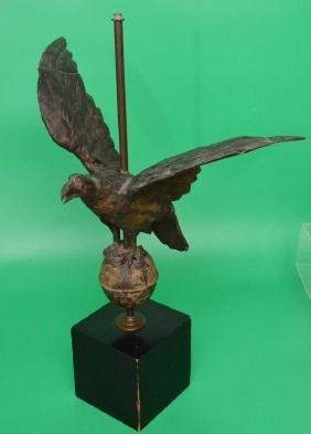 Antique Full Body Eagle Weathervane