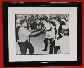 Signed Beatles & Mohammed Ali Photograph