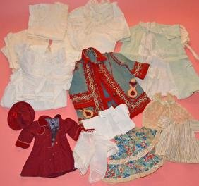 Antique Children's And Doll Clothes