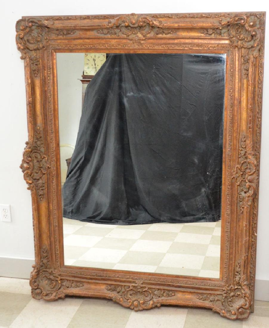 Large Picture Frame Mirror