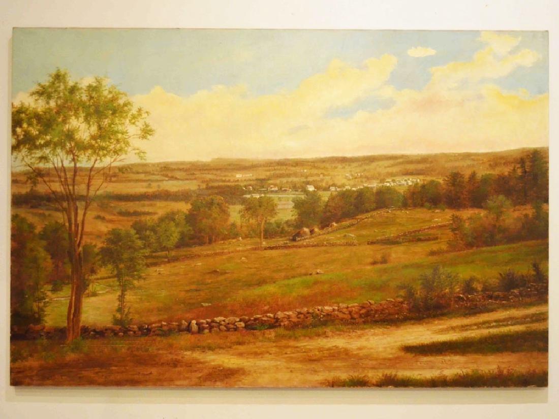 Elizabeth Webster Barre Plains Landscape Painting